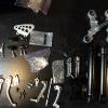 Some of the aluminum parts ready for the chromer.